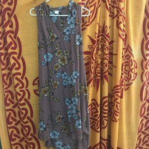 Wild Pearl Midi Dress With Side Slits